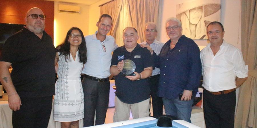 Farewell Dinner of Mr. Augusto Scaglione