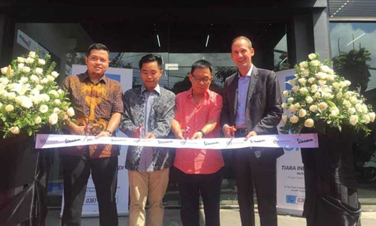 Piaggio Indonesia Add Multiplex Dealer in Nusa Dua, Bali