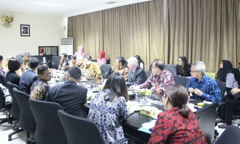 Draft of Job Positions towards Foreign Workers Positive List in Indonesia Meeting